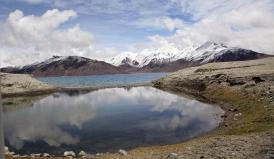 Reflections on Pangong Lake